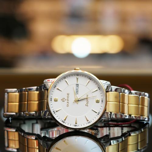 Đồng hồ nam sunrise dm747swc- full box chính hãng, mặt sapphire chống trầy xước, chống nước, thẻ bảo hành 3 năm