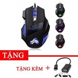 Chuột chơi game có dây IMICE X3 Hàng phân phối chính hãng Tặng kèm cáp otg gift1 DC1250 - 1318412698