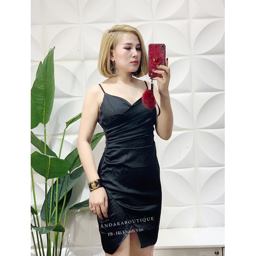 Đầm ôm nữ cát hàn màu đen quyến rũ - 11968851 , 19552067 , 15_19552067 , 105000 , Dam-om-nu-cat-han-mau-den-quyen-ru-15_19552067 , sendo.vn , Đầm ôm nữ cát hàn màu đen quyến rũ