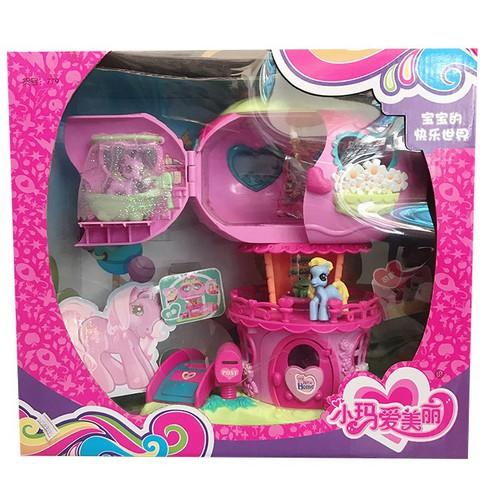 Bộ mô hình nhà ngựa pony da2159