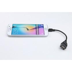 Cáp OTG microUSB giá rẻ nối điện thoại máy tính bảng với usb, usb 3G, phím chuột
