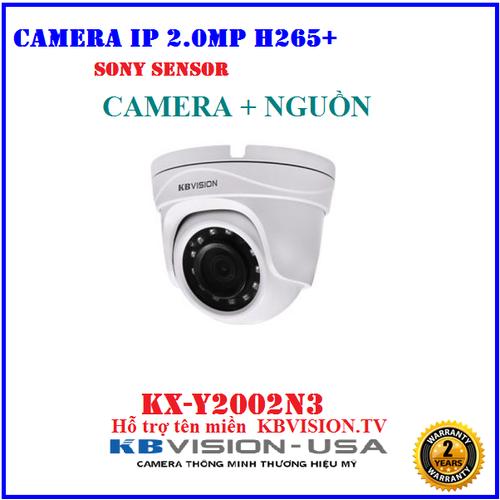 Camera IP 2.0Megapixel KBVISION KX-Y2002N3 + Nguồn 12V, Hỗ trợ tên miền  KBVISION.TV - 11430267 , 19547925 , 15_19547925 , 1650000 , Camera-IP-2.0Megapixel-KBVISION-KX-Y2002N3-Nguon-12V-Ho-tro-ten-mien-KBVISION.TV-15_19547925 , sendo.vn , Camera IP 2.0Megapixel KBVISION KX-Y2002N3 + Nguồn 12V, Hỗ trợ tên miền  KBVISION.TV
