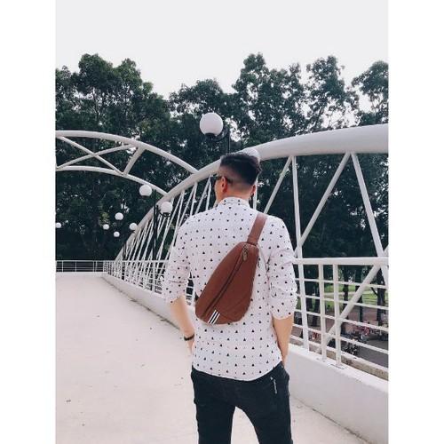 Túi đeo ngực cnt unisex mq13 phong cách hàn quốc