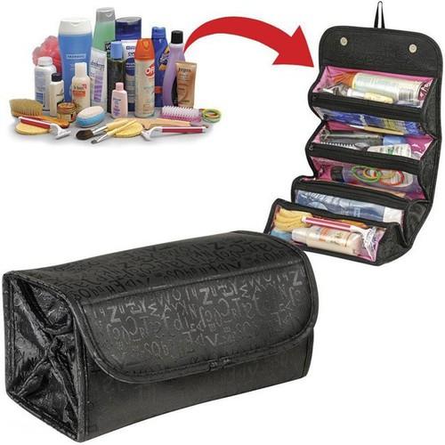 Túi đựng mỹ phẩm thu gọn roll n go giúp các chị em để đồ trang điểm và mang theo khi di du lịch dễ dàng pp50450