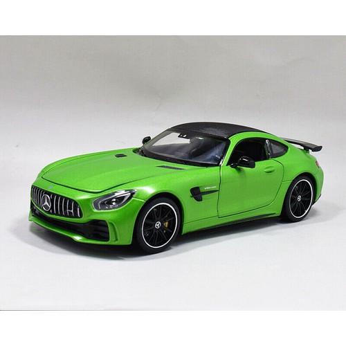 Mô hình siêu xe mercedes amg gtr tỉ lệ 1:24 chính hãng welly