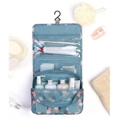 Túi đựng mỹ phẩm gấp gọn với thiết kế thông minh giúp bạn gái thoải mái cất giữ vầ bảo quản mỹ phẩm pp50431
