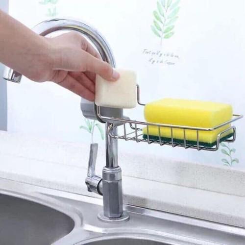 Giá để miếng rửa chén bằng inox - 11967243 , 19548773 , 15_19548773 , 115000 , Gia-de-mieng-rua-chen-bang-inox-15_19548773 , sendo.vn , Giá để miếng rửa chén bằng inox