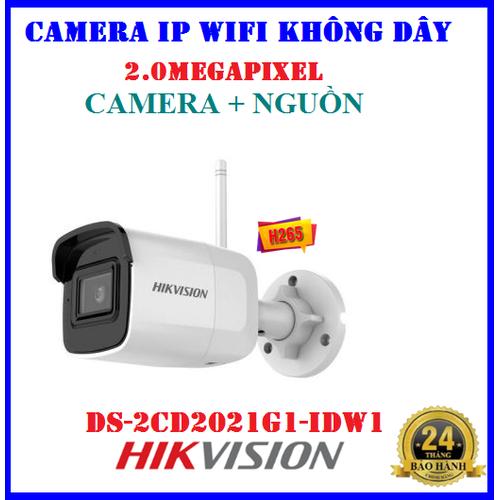 Camera IP WIFI không dây ngoài trời 2.0Megapixel HIKVISION DS-2CD2021G1-IDW1 + Nguồn 12V - 11430043 , 19541907 , 15_19541907 , 1470000 , Camera-IP-WIFI-khong-day-ngoai-troi-2.0Megapixel-HIKVISION-DS-2CD2021G1-IDW1-Nguon-12V-15_19541907 , sendo.vn , Camera IP WIFI không dây ngoài trời 2.0Megapixel HIKVISION DS-2CD2021G1-IDW1 + Nguồn 12V
