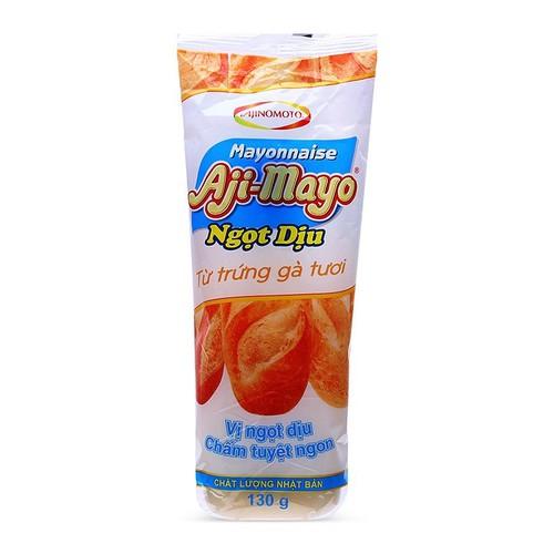 Sốt mayonnaise ngọt dịu aji-mayo tuýp 130g