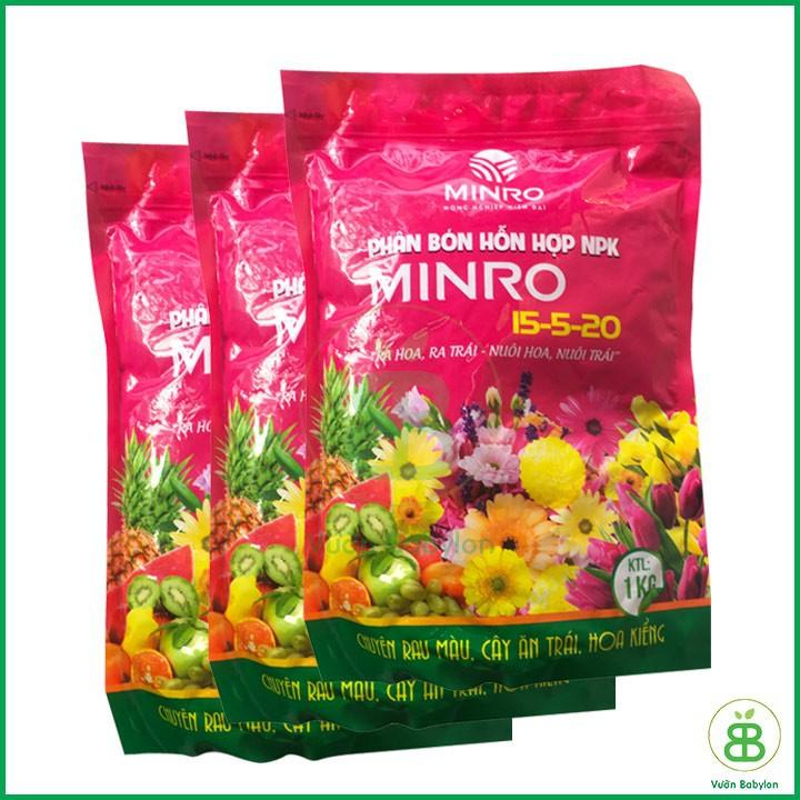 phân bón NPK Minro 15 5 20