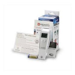 Nhiệt kế điện tử hồng ngoại Microlife đo trán, đo nhiệt độ phòng và nước