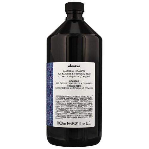 Dầu gội cho tóc nhuộm sáng davines alchemic silver 1000ml