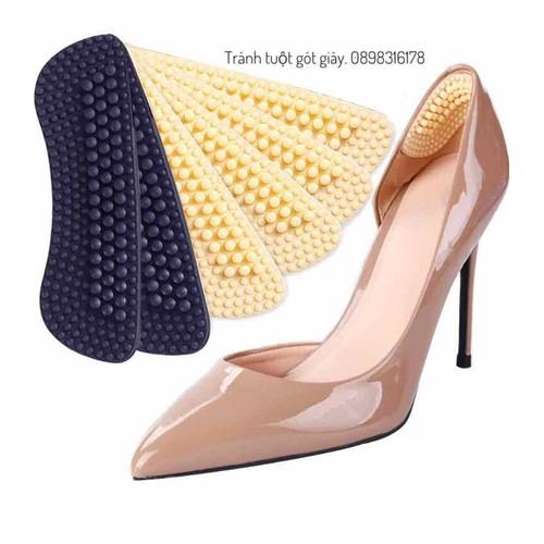 Dán gót giày 4d chống tuột gót giày trầy gót chân