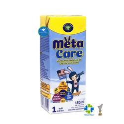 Thùng sữa nước pha sẵn Nutricare Metacare - phát triển toàn diện cho trẻ từ 1 tuổi 180ml x 48 hộp