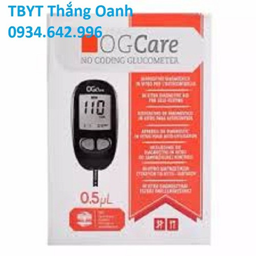 Máy đo đường huyết OGCARE - 11397195 , 18940899 , 15_18940899 , 900000 , May-do-duong-huyet-OGCARE-15_18940899 , sendo.vn , Máy đo đường huyết OGCARE