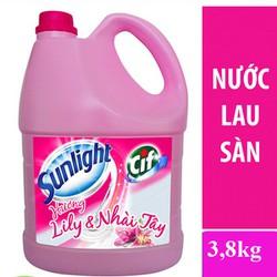 Nước lau sàn hương Lily Nhài Tây can 3,8kg