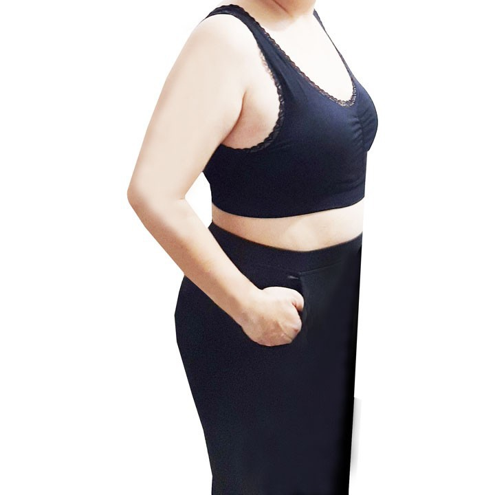 áo lót áo lá size lớn cho người mập - DE401-DA 4