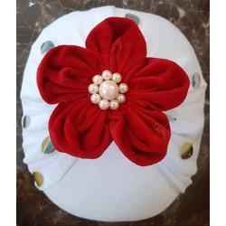turban hoa mai thủ công cho bé ib chọn mẫu