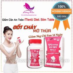 Bộ Sản Phẩm Giảm Cân An Toàn 14 Ngày Menti Diet - Chính Hãng Hàn Quốc