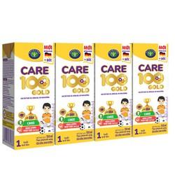 Thùng sữa nước Nutricare Care 100 Gold - phát triển toàn diện cho trẻ 110ml x 48