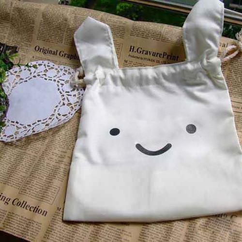 Túi vải tai thỏ ninja