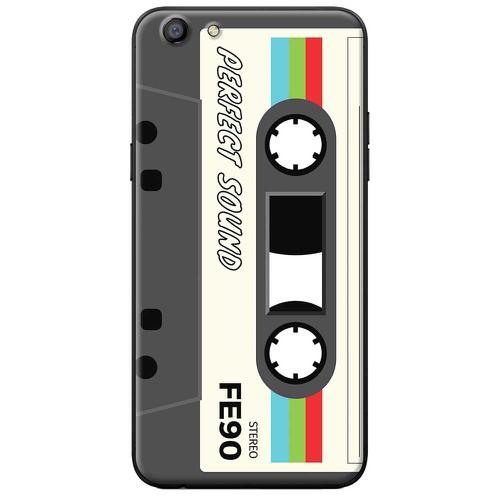 Ốp lưng nhựa dẻo Oppo Neo 9 Cassette trắng