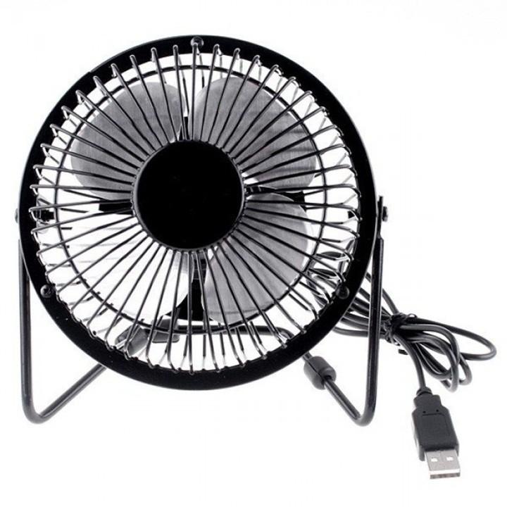 Quạt lồng sắt để bàn làm việc size lớn - Quạt size lớn có thể cắm sạc điện - Quạt mini có thể cắm sạc điện386 4