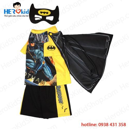 Bộ quần áo siêu nhân người dơi Batman kèm áo choàng và mặt nạ cho bé t - 11407638 , 19569491 , 15_19569491 , 170000 , Bo-quan-ao-sieu-nhan-nguoi-doi-Batman-kem-ao-choang-va-mat-na-cho-be-t-15_19569491 , sendo.vn , Bộ quần áo siêu nhân người dơi Batman kèm áo choàng và mặt nạ cho bé t