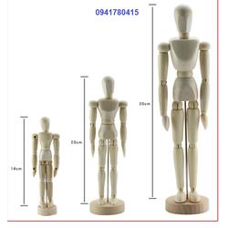 Người gỗ, hình nhân 14cm