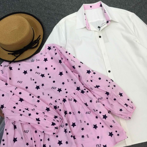 Set áo đôi nam nữ