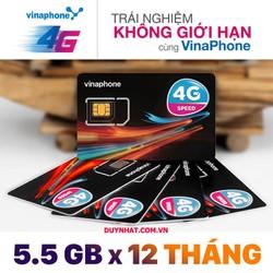 Sim 1 Năm Vina - Sim 3G 4G Trọn Gói