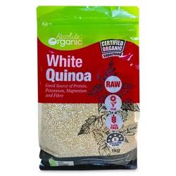 Hạt Diêm Mạch Trắng Absolute Organic White Quinoa 1kg