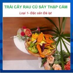 Đặc sản Đà Lạt-Rau củ-quả-sấy khô-thập cẩm sấy-loại 1-Túi 500g