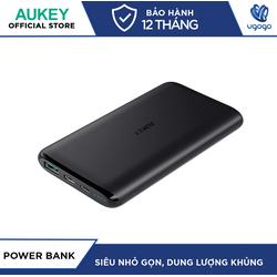 Pin Sạc Dự Phòng 10000mAh Aukey PB-XN10 Cổng Sạc USB-C 15W & USB 12W Tích Hợp AiPower Thông Minh