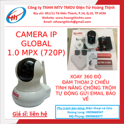 Camera IP wifi F6 Global 1.0 mpx  Camera Ban Đêm
