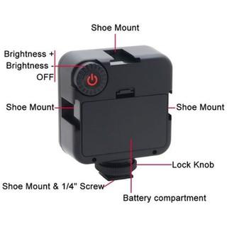 Đèn Flash Mini W49 cho máy ảnh máy quay phim [ĐƯỢC KIỂM HÀNG] 18972429 - 18972429 thumbnail