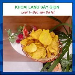 Đặc sản Đà Lạt-Khoai lang sấy-sấy khô-500g