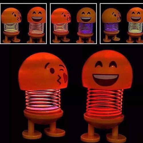 Combo 6 Bé Emoji Nhún Lò Xo Phát Sáng
