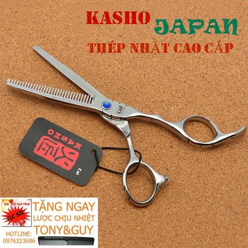 Kéo Tỉa Tóc Chuyên Nghiệp 6 Inch Kasho VQA2 Sắc Bén TẶNG BAO KÉO Kasho và 1 Cây Lược Tony&Guy - 10631982 , 18962545 , 15_18962545 , 315000 , Keo-Tia-Toc-Chuyen-Nghiep-6-Inch-Kasho-VQA2-Sac-Ben-TANG-BAO-KEO-Kasho-va-1-Cay-Luoc-TonyGuy-15_18962545 , sendo.vn , Kéo Tỉa Tóc Chuyên Nghiệp 6 Inch Kasho VQA2 Sắc Bén TẶNG BAO KÉO Kasho và 1 Cây Lược To