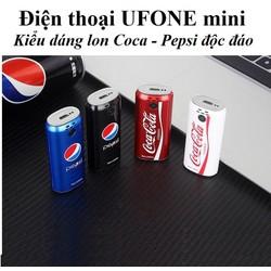 Điện Thoại Mini Siêu Nhỏ Hình Lon Coca - Pepsi Độc đáo - Tích Hợp Camera Quay Phim Chụp Ảnh