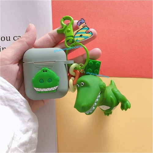Phụ kiện airpod-airpods apple silicon dinosaurs game world chống sốc