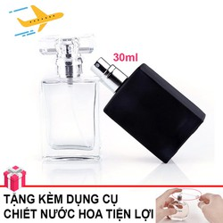 Ống Chai Lọ Chiết Nước Hoa Mini Du Lịch Tiện Lợi 30ml Chai Lọ trữ nước hoa