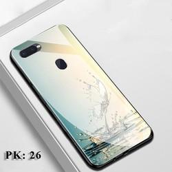 Ốp lưng Oppo A7 - Ốp lưng kính Oppo A7 - Ốp lưng điện thoại A7 - Ốp A7