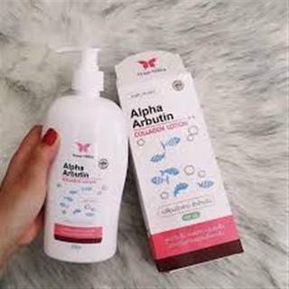 Sữa Dưỡng Thể Kích Trắng ALPHA ARBUTIN COLLAGEN Lotion Dành Cho Body - ALPHA ARBUTIN COLLAGEN Body 4