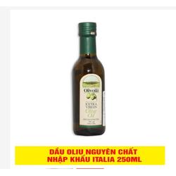 Dầu Ô Liu Olivoila Extra Virgin Chai 250ml Nhập Khẩu ITALY