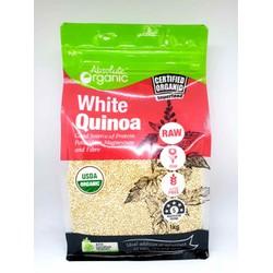 Hạt Diêm Mạch Trắng Úc Absolute Organic White Quinoa 1kg