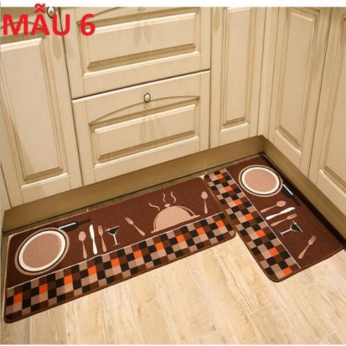 set 2 thảm nhà bếp