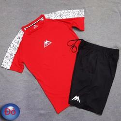 Bộ quần áo thể thao phù hợp nam in hình núi phú sỹ mẫu mới