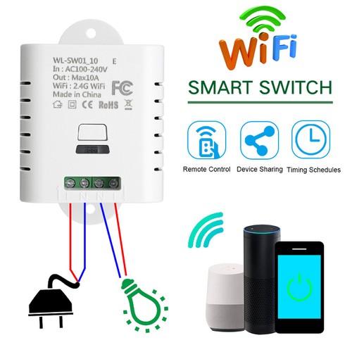 Công tắc điều khiển từ xa wifi SW1-10W E điều khiển bằng APP di động qua kết nối wifi - 11692730 , 18992732 , 15_18992732 , 212000 , Cong-tac-dieu-khien-tu-xa-wifi-SW1-10W-E-dieu-khien-bang-APP-di-dong-qua-ket-noi-wifi-15_18992732 , sendo.vn , Công tắc điều khiển từ xa wifi SW1-10W E điều khiển bằng APP di động qua kết nối wifi