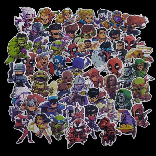 Sticker Superhero - Siêu Anh Hùng